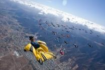 record wing suit