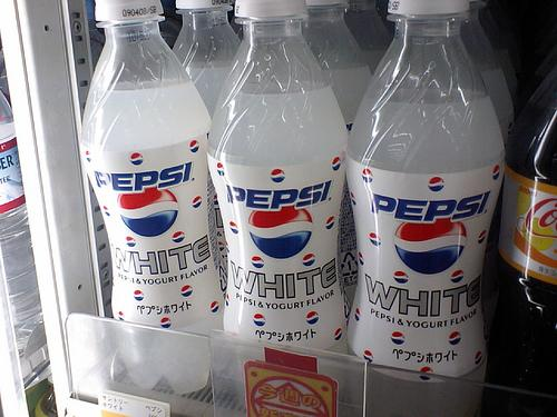 Le Pepsi White au Yogurt
