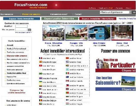 Annonces immobilières internationales