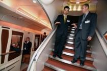 escalier avion