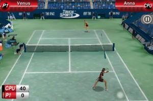TouchSports Tennis iPhone