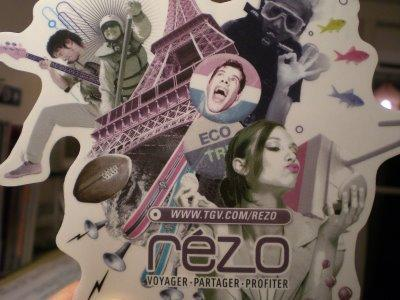 REZO, le nouveau réseau social du TGV