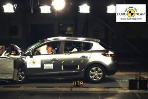 Renault Mégane 3: note maxi au crash-test EuroNCap