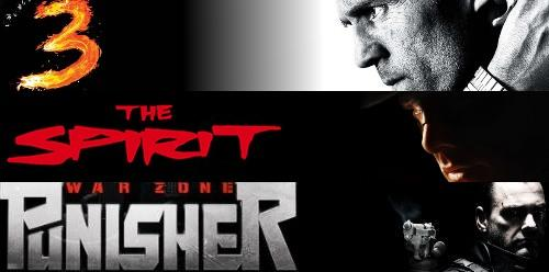 The Spirit, Punisher war Zone et le transporteur 3 made in LionsGate