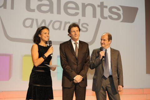 Multi-talents aux Audi Talents Awards
