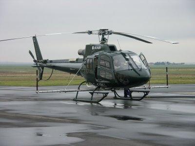 Que d'antennes pour un hélicoptère !