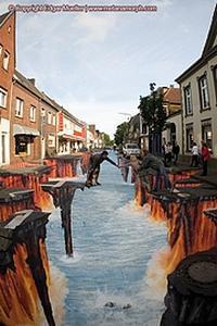 Le Street Art 3D d'Edgar Mueller