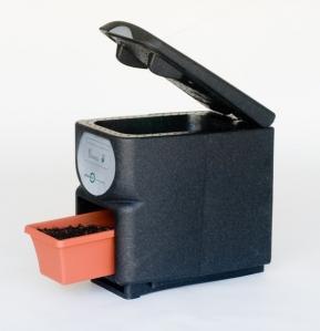 Composter dans sa cuisine paperblog - Petit composteur de cuisine ...