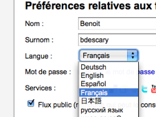 Friendfeed maintenant français