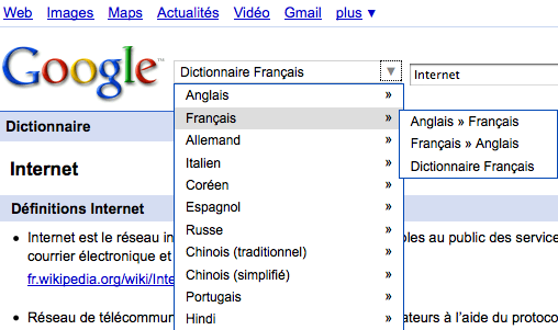 Connaissez Vous Google Dictionnaire Paperblog
