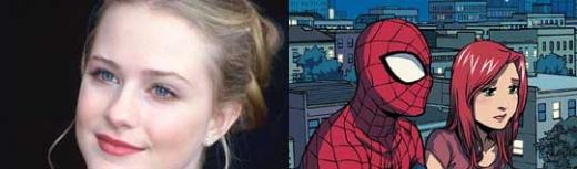 Eva Rachel Wood sera la Mary Jane Watson du Spider-Man de Broadway