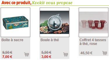 L'exemple de kookit qui propose de produits complémentaires