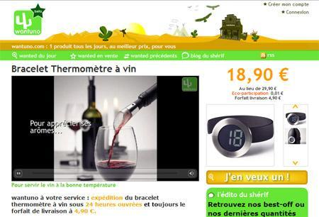 Wantuno présente chaque jour un nouveau produit en vidéo