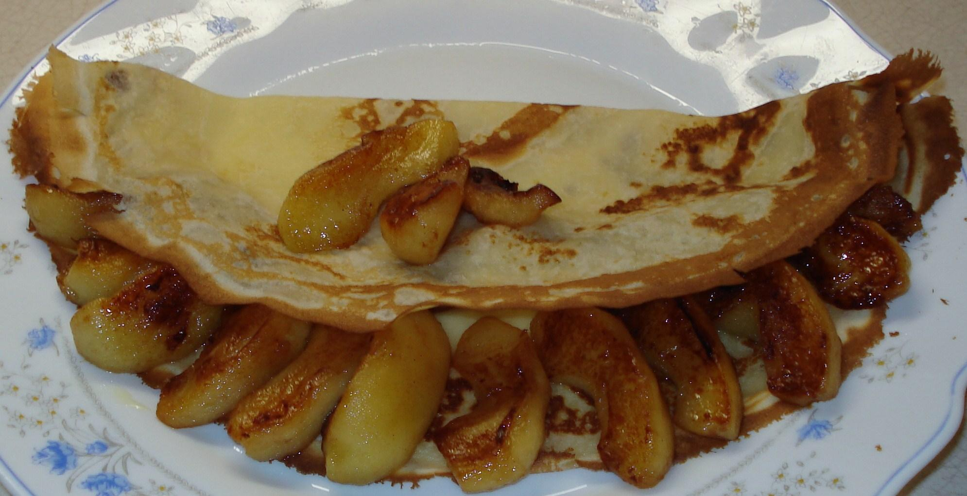 Crepe pomme cannelle