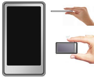 Sony Walkman tactile