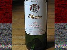 Comparaison Madiran Brumont Montus Prestige 2001