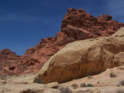 Valley of Fire, flamboyante Vallée de Feu