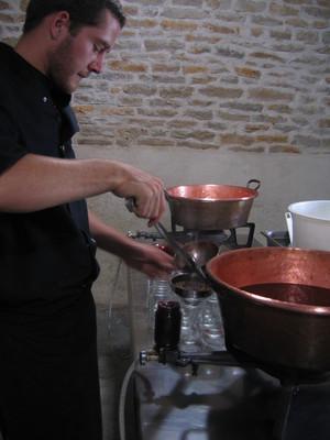 cuisson confiture cerise