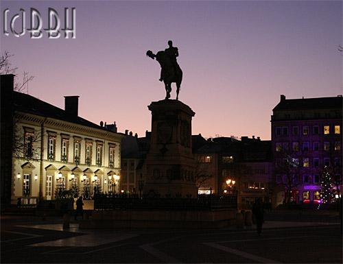 Luxembourg-Ville: place Guillaume