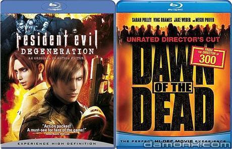 Blu Ray Resident Evil Degeneration
