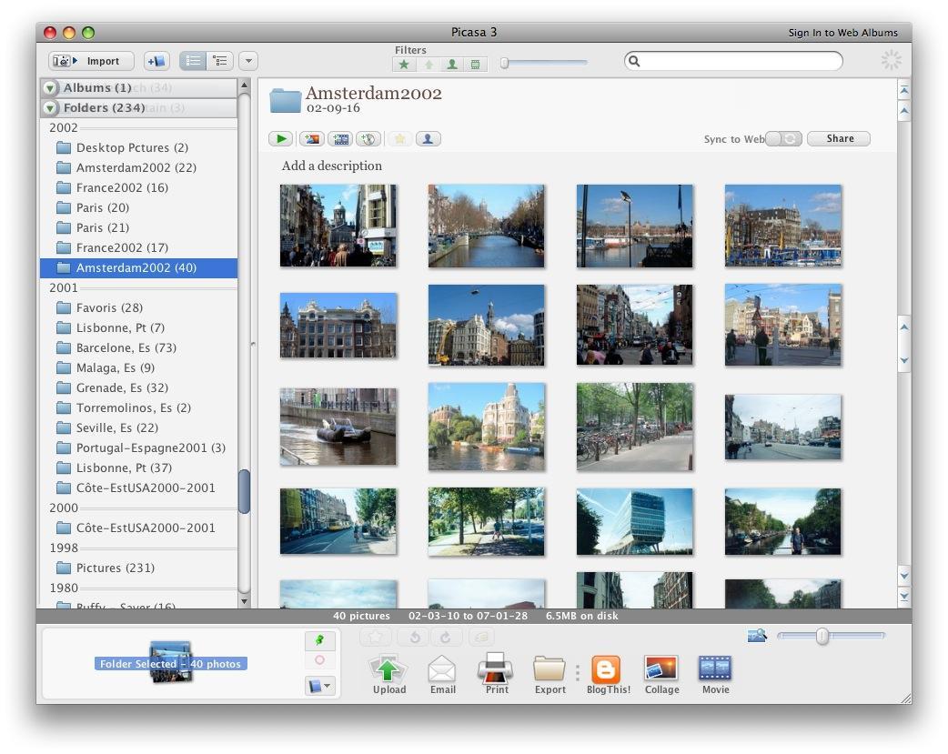 Picasa pour Mac : c'est fait ! | À Voir