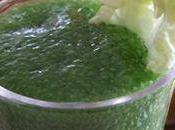 Espuma scarole, pour concours Cuisinez salades