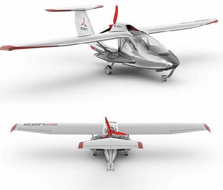 Icon A5 avion fold-up design