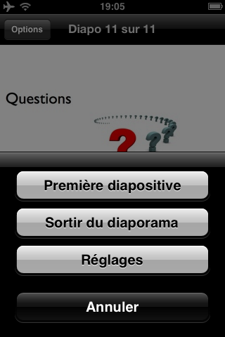 Keynote Remote, une application pour piloter une présentation depuis votre iPhone
