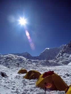 camp de base Himalaya
