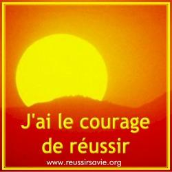 Avoir le courage d'affirmer son but