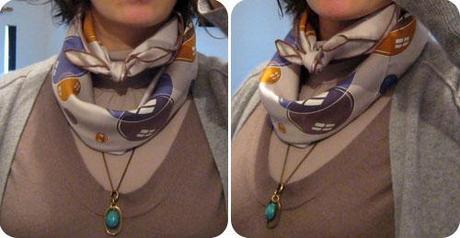 Jouer avec un foulard Hermès : suite