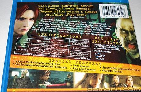 [Arrivage] Blu Ray Resident Evil et Saint Row 2