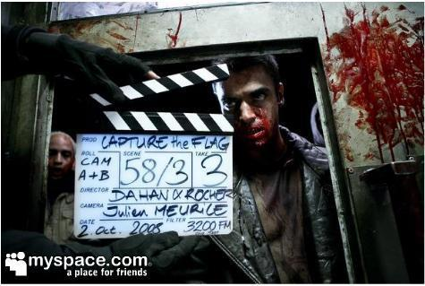 Des photos du tournage de La Horde, le film de zombies made in France
