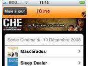 iCiné nouvelle appli cinéma pour iPhone