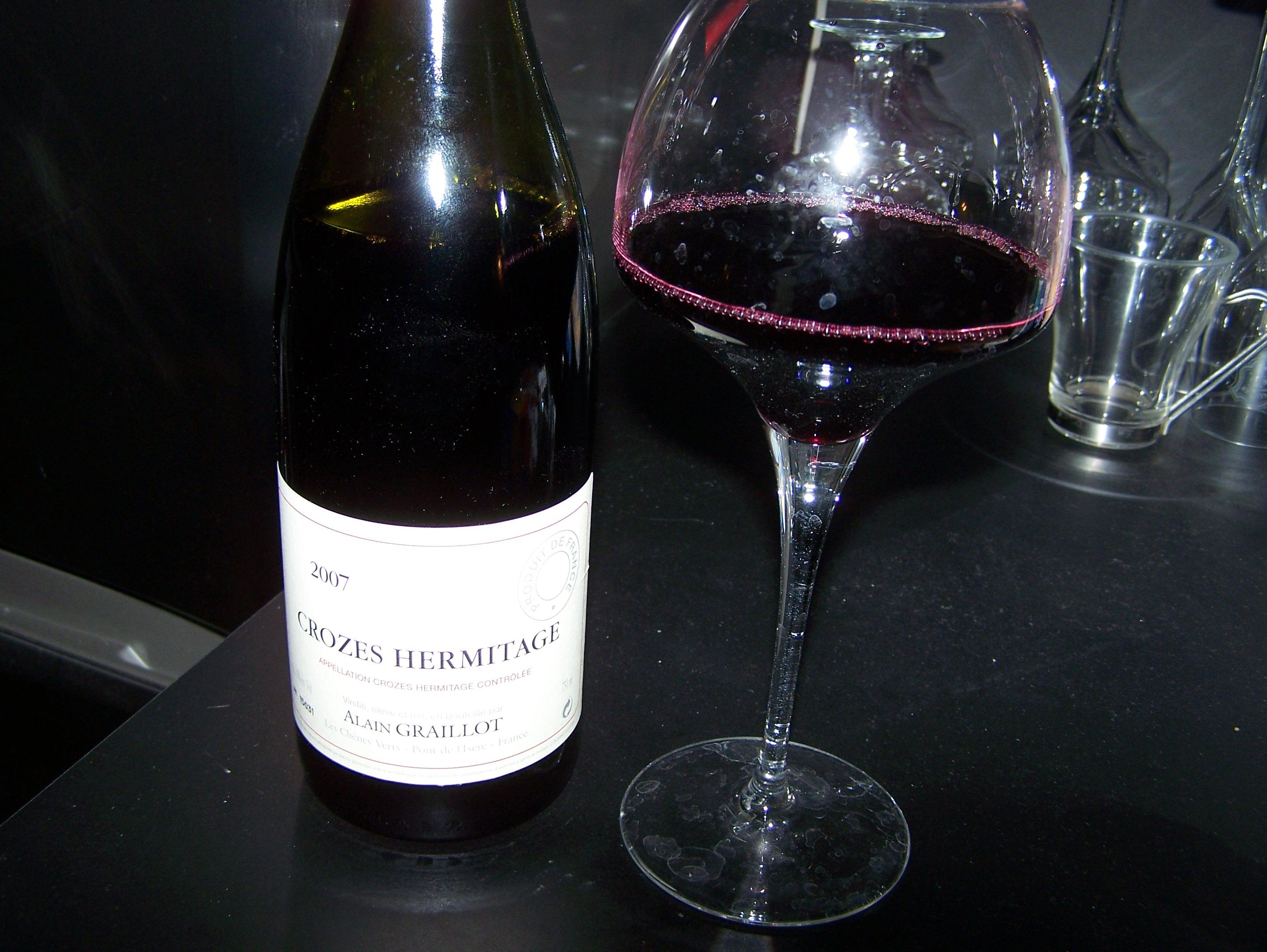 Crozes Hermitage Rouge 2007 Alain Graillot