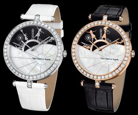 Van Cleef & Arpels crée la montre Une Journée à Paris