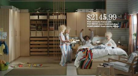 Ikea - Come in to the closet