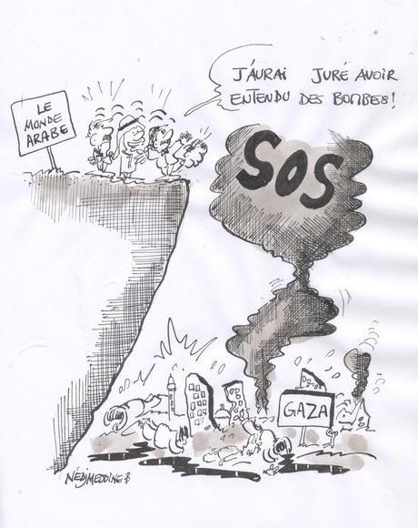 Gaza en dessins