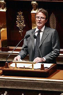 Bernard Kouchner à l'Assemblée nationale, le 11décembre2007.