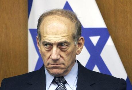 Colère au parlement britannique contre le boucher Ehud Olmert