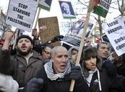 Manifestation soutien Palestiniens Gaza. Paris