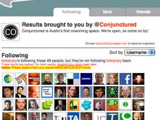 Trois services pour gérer followers twitter