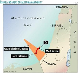 Gaza : Invasion israélienne et gisements gaziers