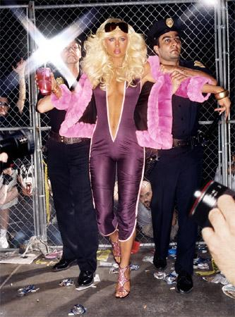 david lachapelle x paris hilton