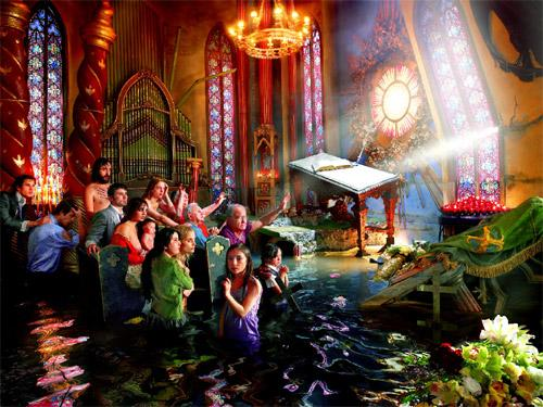 david lachapelle - cathedrale 2007