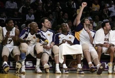 Spurs 89 @ 99 Lakers (25.01.2009)