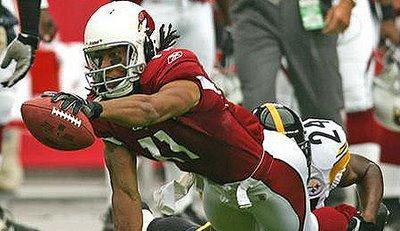 Les Miettes-Boni du Mercredi : Larry Fitzgerald, Herman Edwards, Dan Morgan et plus.