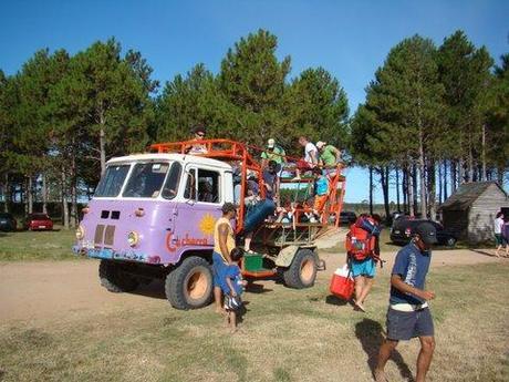 Camion adapté au sable