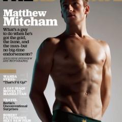 Mattehw Mitcham pour The Advocate, mars 2009