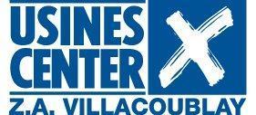 logo du centre de marques et de magasins d'usine Usines Center à Villacoublay